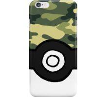 Camo Pokeball iPhone Case/Skin