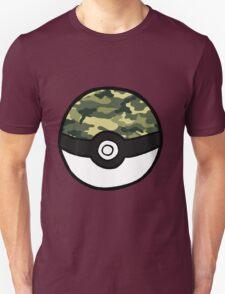Camo Pokeball T-Shirt