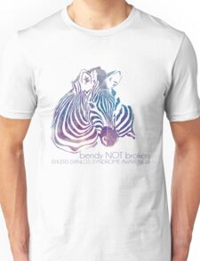 bendy NOT broken (EDS awareness Unisex T-Shirt