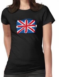United Kingdom flag Womens Fitted T-Shirt