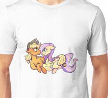 Applejack and Fluttershy Unisex T-Shirt