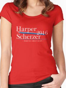 Harper Scherzer 2016 Women's Fitted Scoop T-Shirt