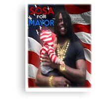Sosa For Mayor Canvas Print