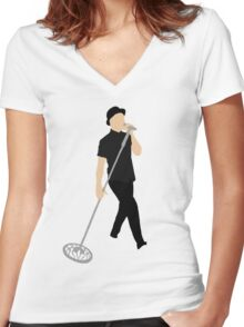 JT Women's Fitted V-Neck T-Shirt