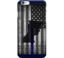 Blessed are the Peacemakers USA iPhone Case/Skin