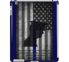 Blessed are the Peacemakers USA iPad Case/Skin