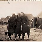 Casual Soldiers Circa WWII by Vintaged