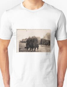 Casual Soldiers Circa WWII T-Shirt