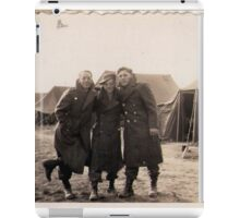 Casual Soldiers Circa WWII iPad Case/Skin
