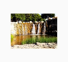 Rocky Falls, Photo / Digital Painting  Unisex T-Shirt