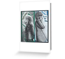 Good Bye John... SHERLOCK Greeting Card