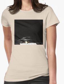 dog duvet by Anne Winkler Womens Fitted T-Shirt