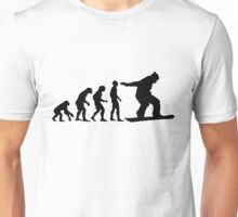Snowboard Evolution Unisex T-Shirt
