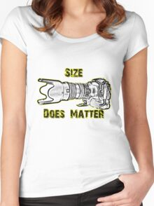 Size Does Matter Women's Fitted Scoop T-Shirt