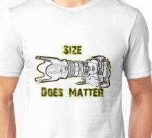 Size Does Matter Unisex T-Shirt