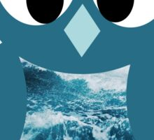 Ocean Owl Sticker