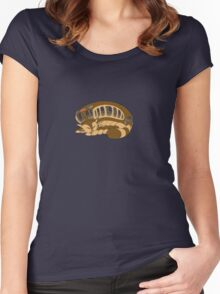 Catbus Women's Fitted Scoop T-Shirt