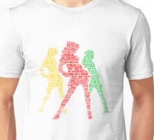 Candy Store Lyric Silhouette Unisex T-Shirt