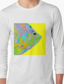 Tropical Fish painting Long Sleeve T-Shirt