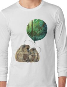 Balloon Monkey dream Long Sleeve T-Shirt