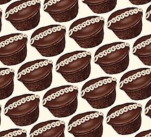 Hostess Cupcake Pattern by Kelly  Gilleran