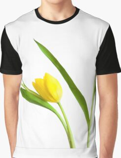 Colorful Tulips Graphic T-Shirt