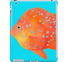 Spotted Tropical Fish painting iPad Case/Skin