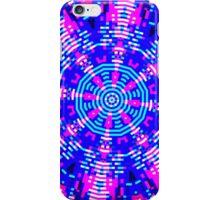 glitch kaleidoscope - neon iPhone Case/Skin
