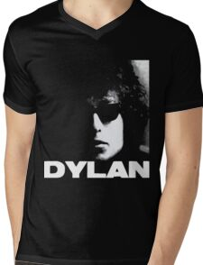 Bob Dylan Mens V-Neck T-Shirt
