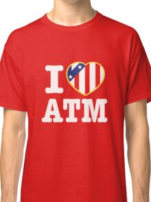 I Love Atleti Classic T-Shirt