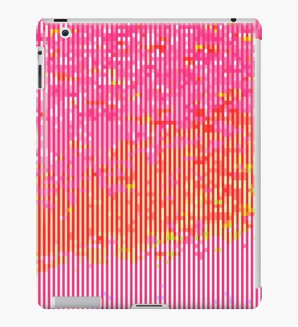 glitchy - warm iPad Case/Skin