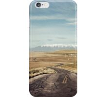 The road from Antelope Island iPhone Case/Skin