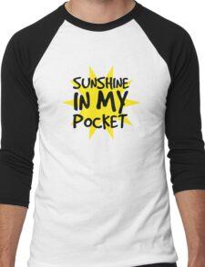 Sunshine in my Pocket Men's Baseball ¾ T-Shirt