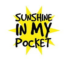Sunshine in my Pocket Photographic Print