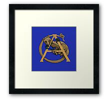 A is for Alphyn May 2016 Framed Print