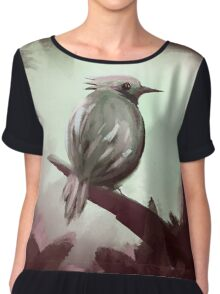 for the ones bird Chiffon Top