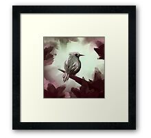 for the ones bird Framed Print