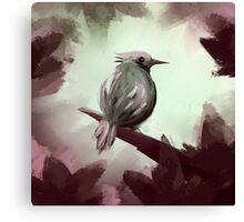 for the ones bird Canvas Print