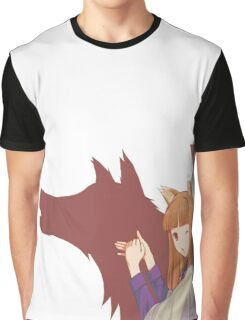 Spice and Wolf Graphic T-Shirt