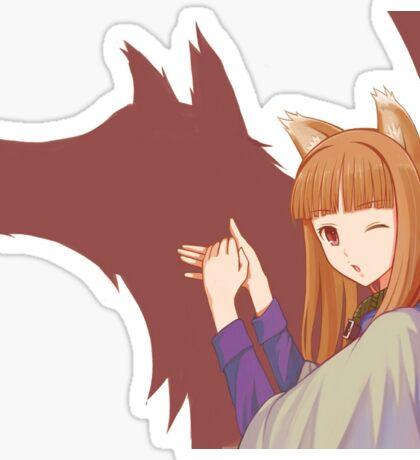 Spice and Wolf Sticker