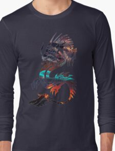 Dragon Picture Fill Long Sleeve T-Shirt