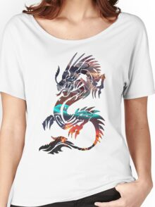 Dragon Picture Fill Women's Relaxed Fit T-Shirt