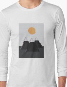 Glitch Mountain Long Sleeve T-Shirt