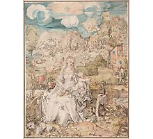 Vintage famous art - Albrecht Durer - Mary Among A Multitude Of Animals,  1503 Photographic Print