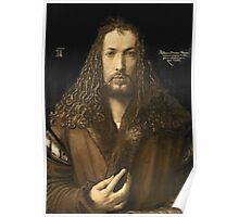 Vintage famous art - Albrecht Durer - Self Portrait Poster