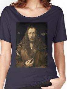 Vintage famous art - Albrecht Durer - Self Portrait Women's Relaxed Fit T-Shirt