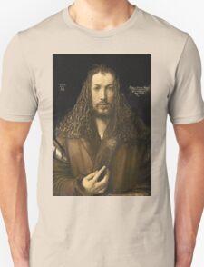 Vintage famous art - Albrecht Durer - Self Portrait T-Shirt