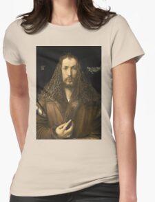 Vintage famous art - Albrecht Durer - Self Portrait Womens T-Shirt