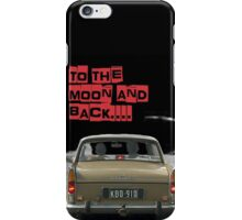 to the moon and back.... Valentine's - by Anne Winkler iPhone Case/Skin