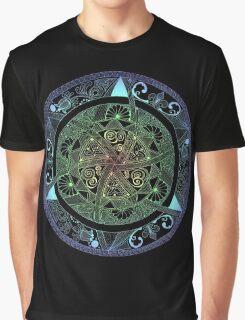 Chakras Mandala Graphic T-Shirt